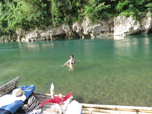 Eva in water