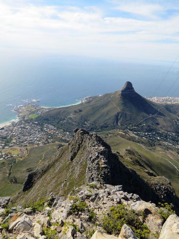 654 A Bird S Eye View Table Mountain South Africa